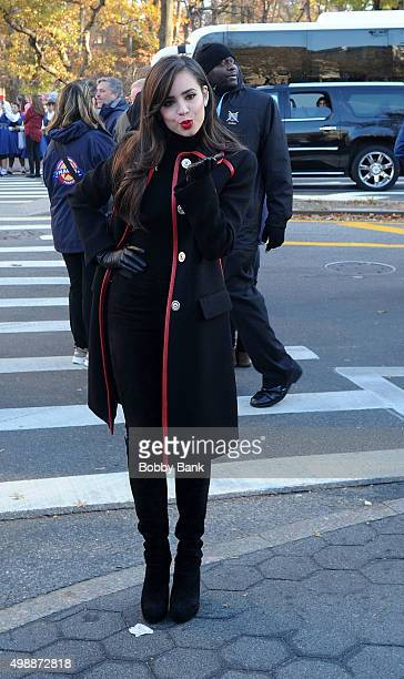 Sofia Carson attends the 89th Annual Macy's Thanksgiving Day Parade on November 26 2015 in New York City