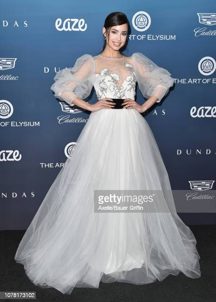 Sofia Carson attends The Art of Elysium's 12th Annual Celebration Heaven on January 5 2019 in Los Angeles California