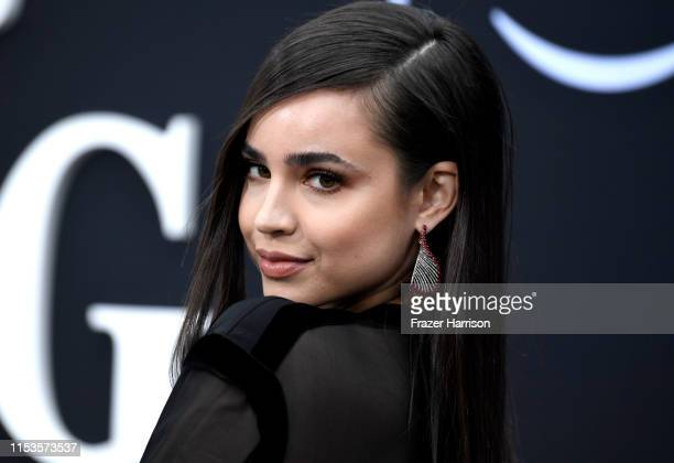"Sofia Carson attends the Premiere Of Amazon Prime Video's ""Chasing Happiness"" at Regency Bruin Theatre on June 03, 2019 in Los Angeles, California."