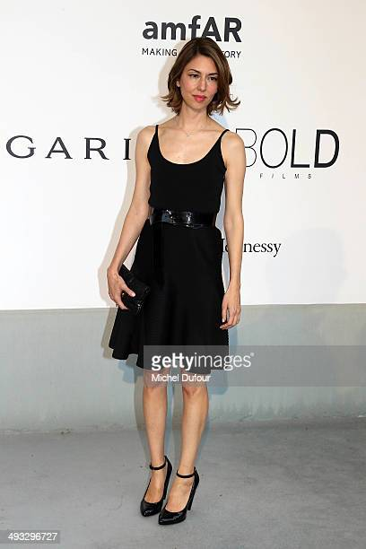 Sofia Copolla attends amfAR's 21st Cinema Against AIDS Gala Presented By WORLDVIEW BOLD FILMS And BVLGARI at the 67th Annual Cannes Film Festival on...
