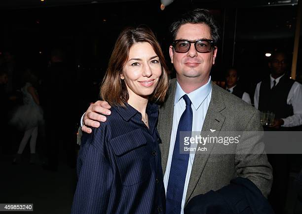 Sofia Coppola and executive producer Roman Coppola attend the red carpet premiere screening of Amazon's Original Series 'Mozart in the Jungle' at...