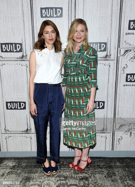 """Sofia Coppola and Kirsten Dunst visit build Studios to discuss their new movie """"The Beguiled"""" at Build Studio on June 21, 2017 in New York City."""