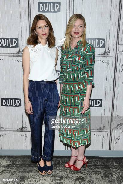 Sofia Coppola and Kirsten Dunst visit build Studios to discuss their new movie The Beguiled at Build Studio on June 21 2017 in New York City