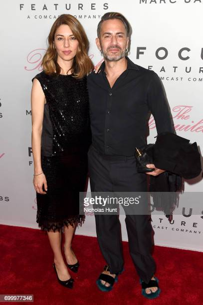 Sofia Coppola and Marc Jacobs attend The Beguiled New York Premiere at The Metrograph on June 22 2017 in New York City