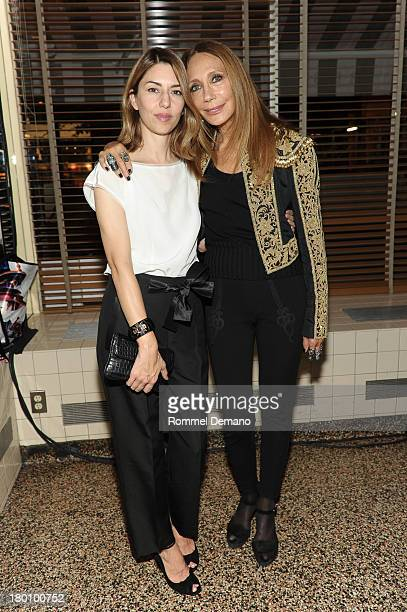 Sofia Coppola and Marisa Berenson attend 'M·A·C Antonio' Collection Launch Event at The Odeon on September 8 2013 in New York City