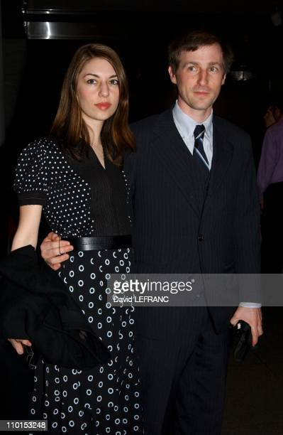 Sofia Coppola and Spike Jonze at the Museum of Modern Art for 'A Work in Progress An evening with David Russell' in New York United States on April...