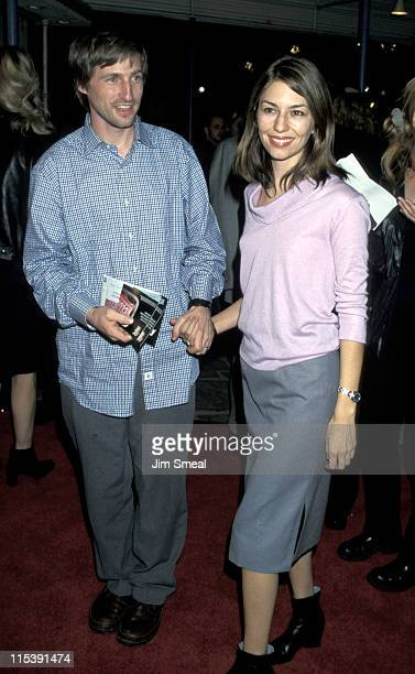 """Sofia Coppola and Spike Jonze during """"Fight Club"""" Los Angeles Premiere at Mann's Village Theater in Westwood, California, United States."""