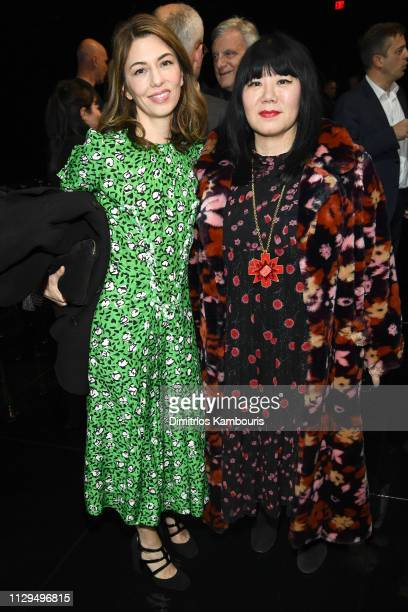Sofia Coppola and Susan Shin attends the Marc Jacobs Fall 2019 Show at Park Avenue Armory on February 13 2019 in New York City