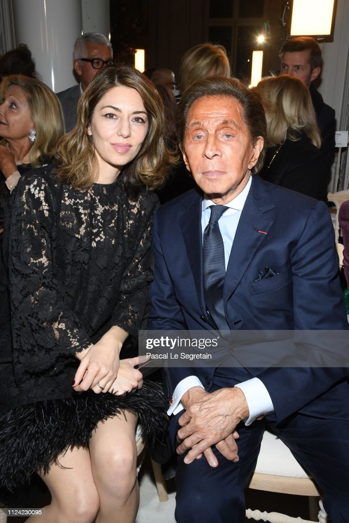 Valentino : Front Row - Paris Fashion Week - Haute Couture Spring Summer 2019 : News Photo