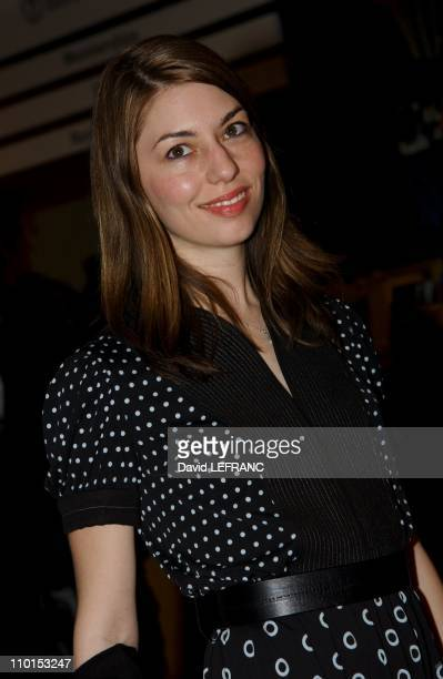 Sofia Coppola at the Museum of Modern Art for 'A Work in Progress An evening with David Russell' in New York United States on April 10 2002 A work in...