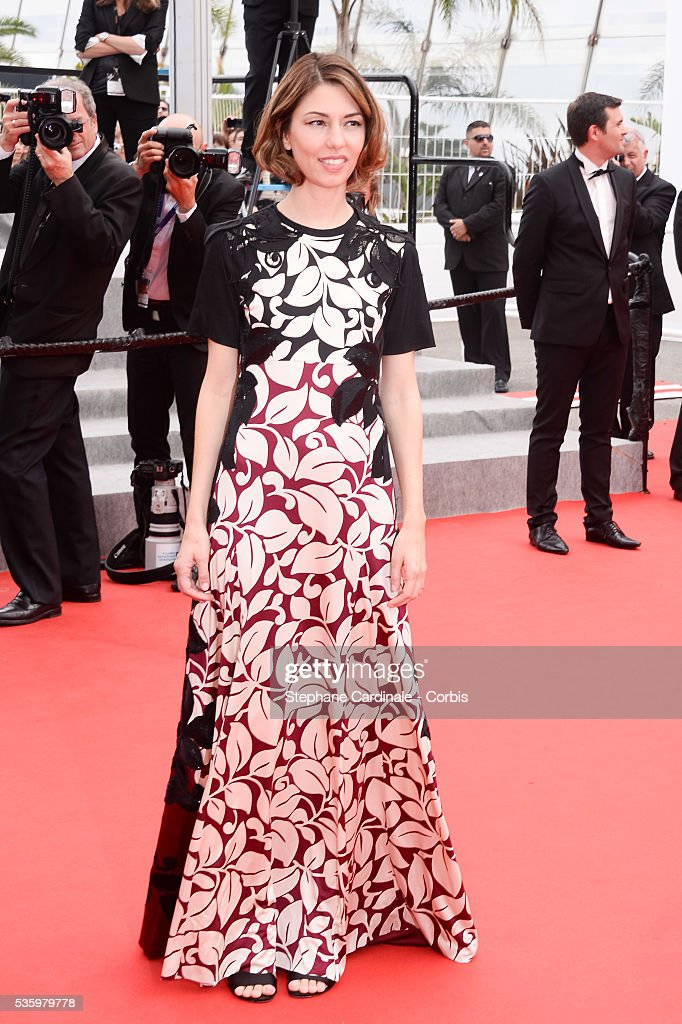 Sofia Coppola at the red carpet for the Palme D'Or winners during 67th Cannes Film Festival