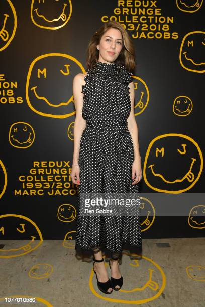 Sofia Coppola attends as Marc Jacobs Sofia Coppola Katie Grand celebrate The Marc Jacobs Redux Grunge Collection and the opening of Marc Jacobs...