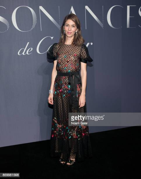Sofia Coppola attends Cartier's celebration of Resonances de Cartier on October 10 2017 in New York City