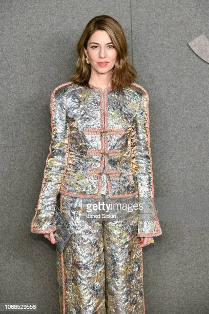 Sofia Coppola attends CHANEL Paris New York Meitiers d'art 2018/19 Show at Metropolitan Museum of Art on December 4, 2018 in New York City.