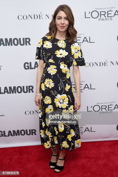 Sofia Coppola attends Glamour's 2017 Women of The Year Awards at Kings Theatre on November 13 2017 in Brooklyn New York