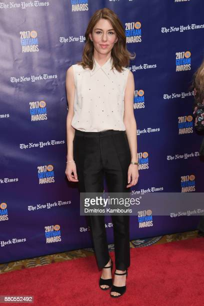 Sofia Coppola attends IFP's 27th Annual Gotham Independent Film Awards on November 27 2017 in New York City