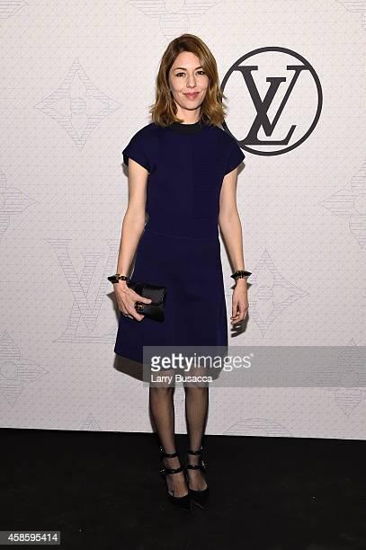Sofia Coppola attends Louis Vuitton Monogram celebration at Museum of Modern Art on November 7 2014 in New York City