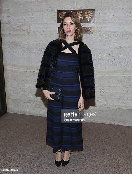 Sofia Coppola attends Project Perpetual's Inaugural Auction Benefiting The United Nations Foundation at Four Seasons Restaurant on November 9 2014 in...