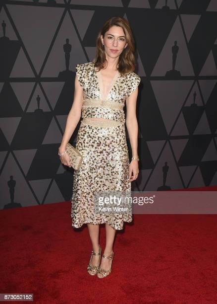Sofia Coppola attends the Academy of Motion Picture Arts and Sciences' 9th Annual Governors Awards at The Ray Dolby Ballroom at Hollywood Highland...