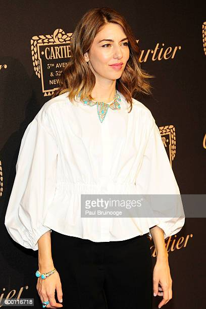 Sofia Coppola attends the Cartier Fetes the Grand Opening of The Fifth Avenue Mansion at Cartier Mansion on SEPTEMBER 7 2016 in New York City