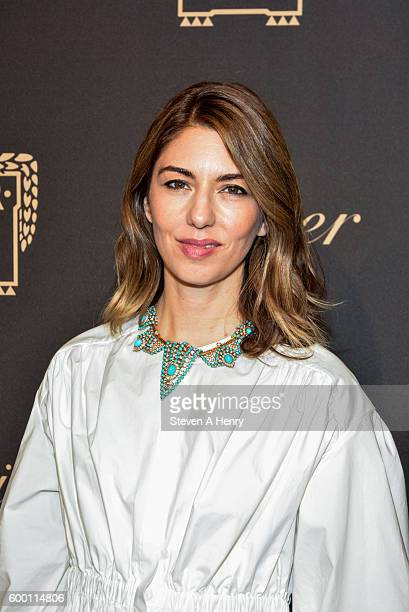 Sofia Coppola attends the Cartier Fifth Avenue Mansion Reopening Party at Cartier Mansion on September 7 2016 in New York City