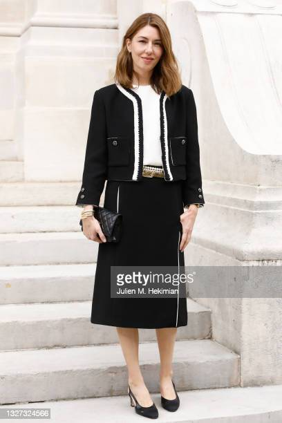 Sofia Coppola attends the Chanel Haute Couture Fall/Winter 2021/2022 show as part of Paris Fashion Week on July 06, 2021 in Paris, France.