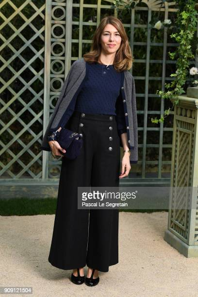Sofia Coppola attends the Chanel Haute Couture Spring Summer 2018 show as part of Paris Fashion Week on January 23 2018 in Paris France