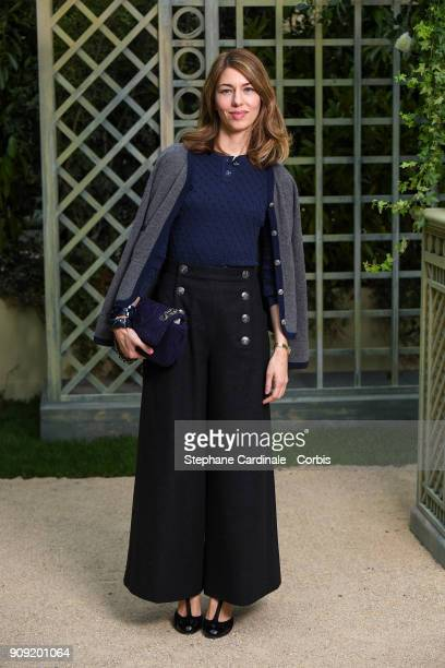 Sofia Coppola attends the Chanel Haute Couture Spring Summer 2018 show as part of Paris Fashion Week January 23 2018 in Paris France