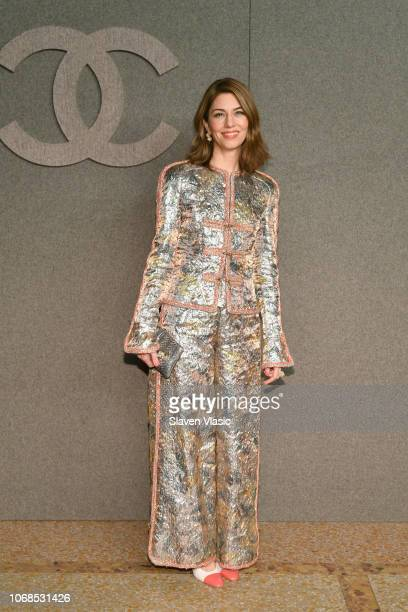 Sofia Coppola attends the CHANEL Metiers d'Art 2018/19 Show at The Metropolitan Museum of Art on December 4 2018 in New York City