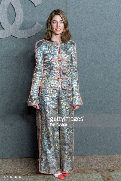 Sofia Coppola attends the Chanel Metiers D'Art 2018/19 Show at The Metropolitan Museum of Art on December 04 2018 in New York City