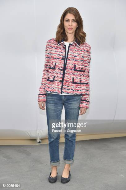 Sofia Coppola attends the Chanel show as part of the Paris Fashion Week Womenswear Fall/Winter 2017/2018 on March 7 2017 in Paris France