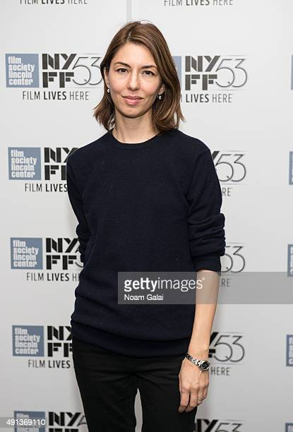 Sofia Coppola attends the cocktail reception for 'Maggie's Plan' during the 53rd New York Film Festival at Alice Tully Hall Lincoln Center on October...