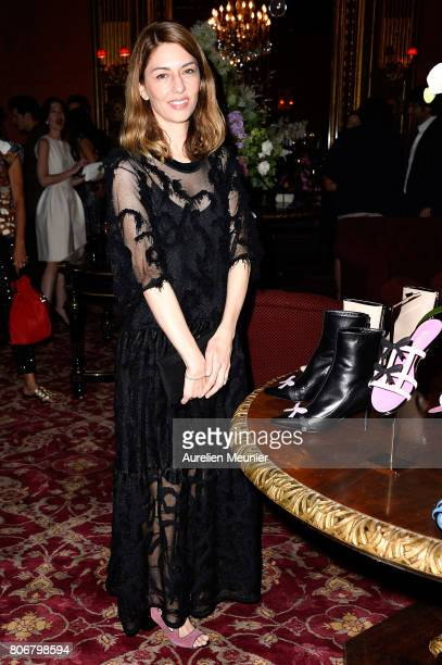Sofia Coppola attends the dinner to celebrate the launch of Fabrizio Viti Cruise 18 Collection Back In Love Again at Hotel La Pavia on July 3 2017 in...