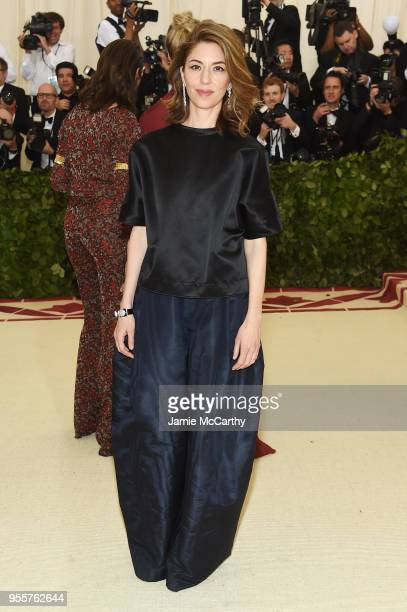 Sofia Coppola attends the Heavenly Bodies Fashion The Catholic Imagination Costume Institute Gala at The Metropolitan Museum of Art on May 7 2018 in...