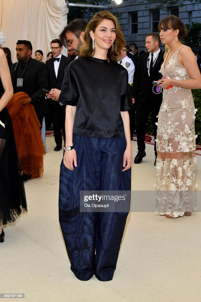 Sofia Coppola attends the Heavenly Bodies: Fashion & The Catholic Imagination Costume Institute Gala at The Metropolitan Museum of Art on May 7, 2018 in New York City.