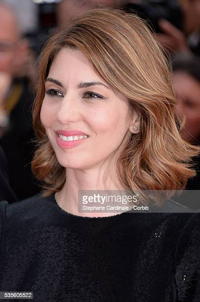 Sofia Coppola attends the Jeune & Jolie premiere during the 66th Cannes International Film Festival.