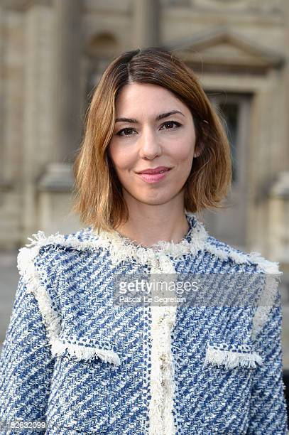 Sofia Coppola attends the Louis Vuitton show as part of the Paris Fashion Week Womenswear Spring/Summer 2014 at Le Carre du Louvre on October 2 2013...