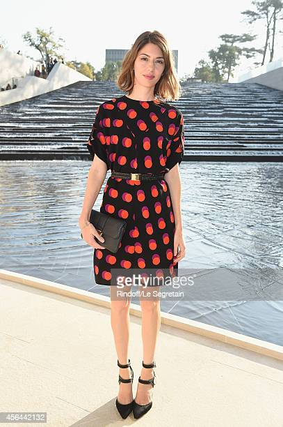 Sofia Coppola attends the Louis Vuitton show as part of the Paris Fashion Week Womenswear Spring/Summer 2015 on October 1 2014 in Paris France