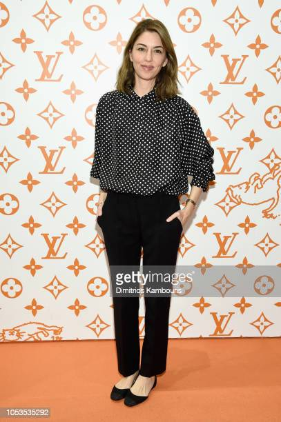 Sofia Coppola attends the Louis Vuitton X Grace Coddington Event on October 25 2018 in New York City
