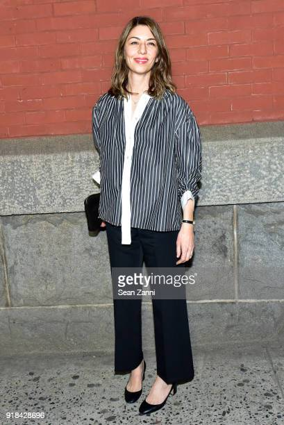 Sofia Coppola attends the Marc Jacobs Fall 2018 fashion show during New York Fashion Week at Park Avenue Armory on February 14 2018 in New York City