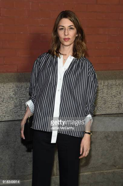 Sofia Coppola attends the Marc Jacobs Fall 2018 Show at Park Avenue Armory on February 14 2018 in New York City