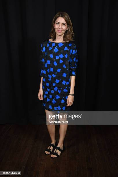 Sofia Coppola attends the Marc Jacobs Spring 2019 Runway during New York Fashion Week The Shows at Park Avenue Armory on September 12 2018 in New...