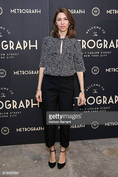 Sofia Coppola attends the Metrograph opening night at Metrograph on March 2 2016 in New York City