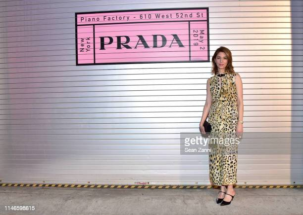 Sofia Coppola attends the Prada Resort 2020 fashion show at Prada Headquarters on May 02 2019 in New York City