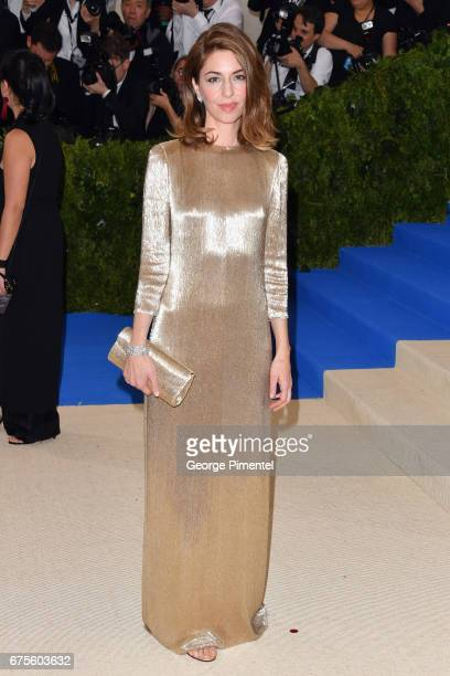 Sofia Coppola attends the 'Rei Kawakubo/Comme des Garcons Art Of The InBetween' Costume Institute Gala at Metropolitan Museum of Art on May 1 2017 in...