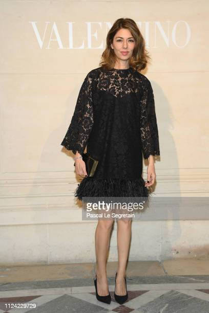 Sofia Coppola attends the Valentino Haute Couture Spring Summer 2019 show as part of Paris Fashion Week on January 23, 2019 in Paris, France.