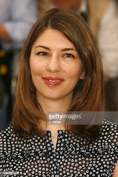 Sofia Coppola during 2006 Cannes Film Festival 'Marie Antionette' Photocall at Palais des Festival in Cannes France