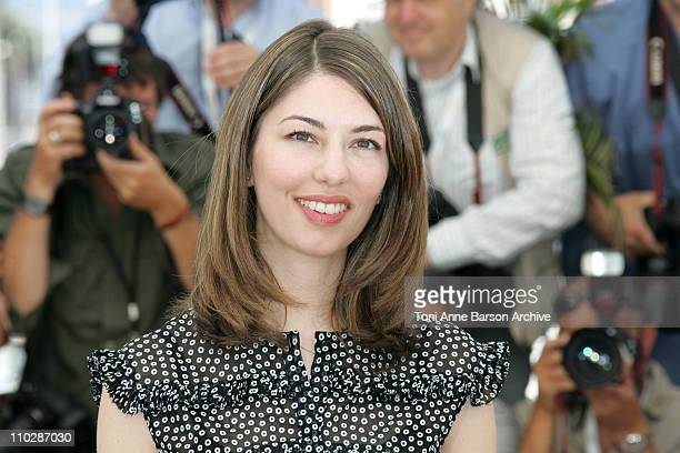 """Sofia Coppola during 2006 Cannes Film Festival - """"Marie Antionette"""" - Photocall at Palais des Festival in Cannes, France."""