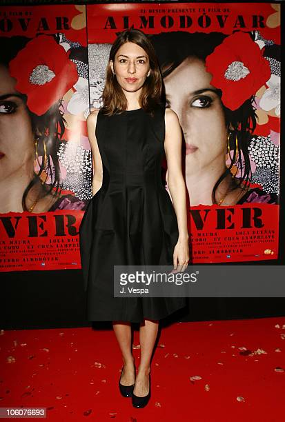 Sofia Coppola during 2006 Cannes Film Festival Volver Premiere Dinner at Noga Beach in Cannes France