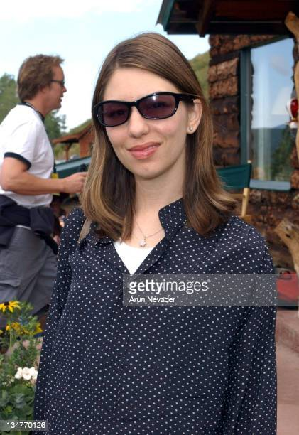 Sofia Coppola during 30th Telluride Film Festival Patrons' Brunch at Skyline Ranch in Telluride Colorado United States